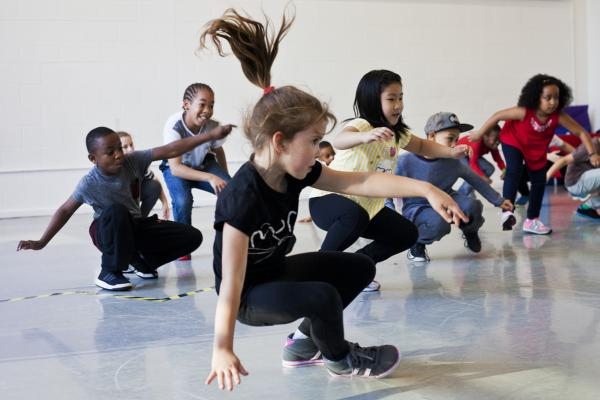 Workshop Kidsdance  Antwerpen.